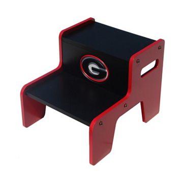 Georgia Bulldogs Two-Tier Step Stool