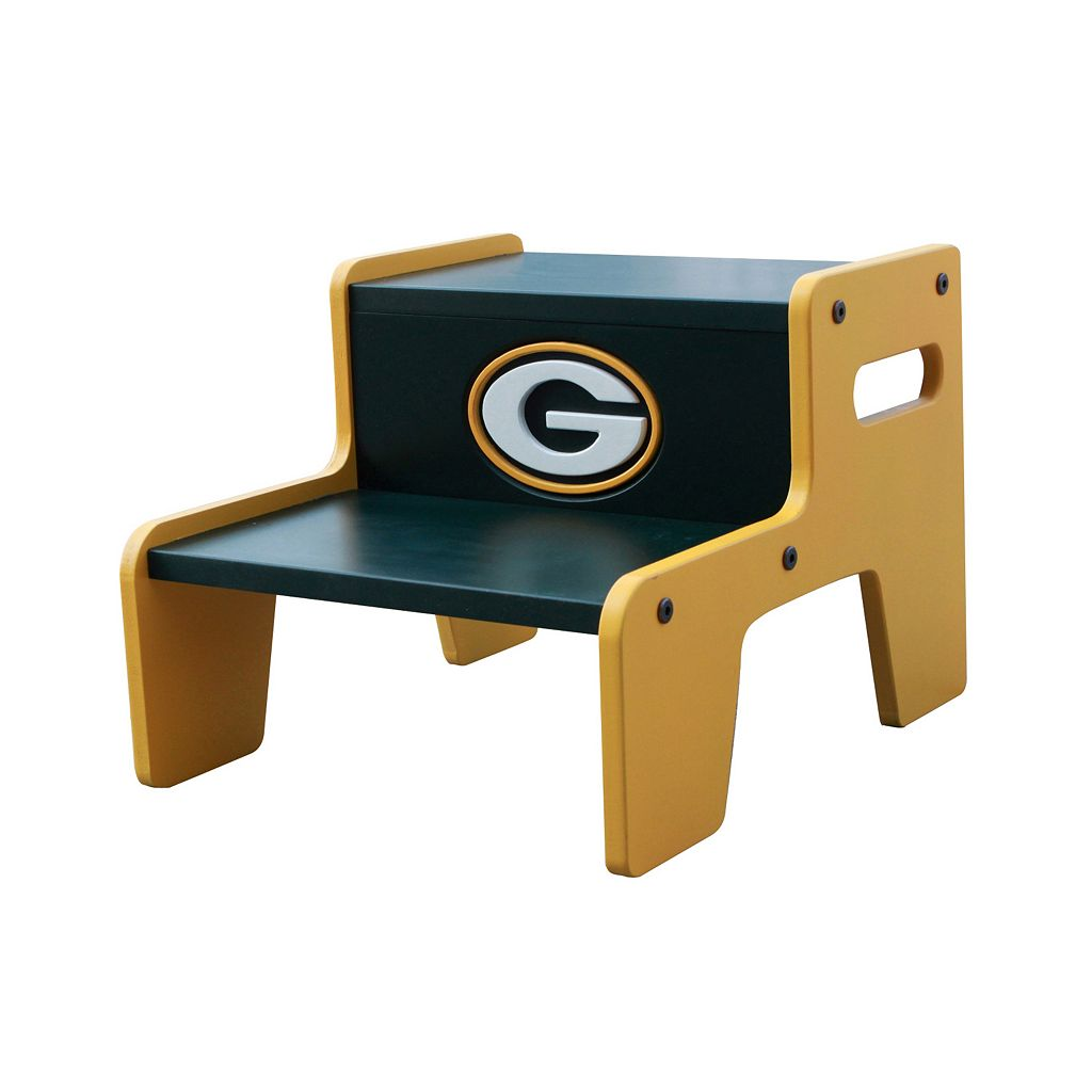 Green Bay Packers Two-Tier Step Stool