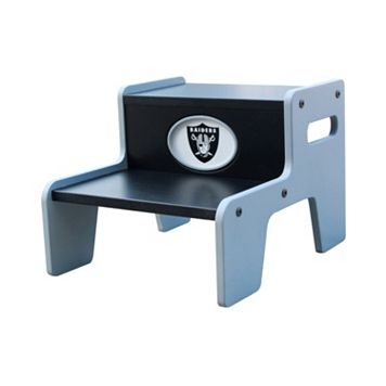 Oakland Raiders Two-Tier Step Stool