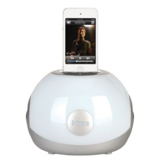 iHome LED Color Changing iPod 30-Pin Stereo System and Charging Dock