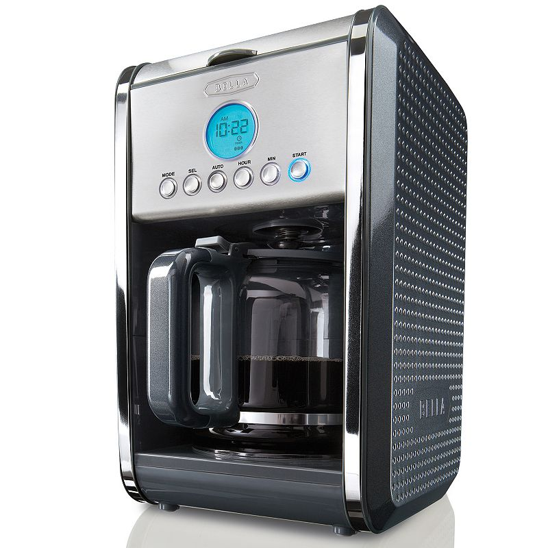 Bella One Cup Coffee Maker Kohl S : BELLA DOTS 12-CUP PROGRAMMABLE COFFEE MAKER