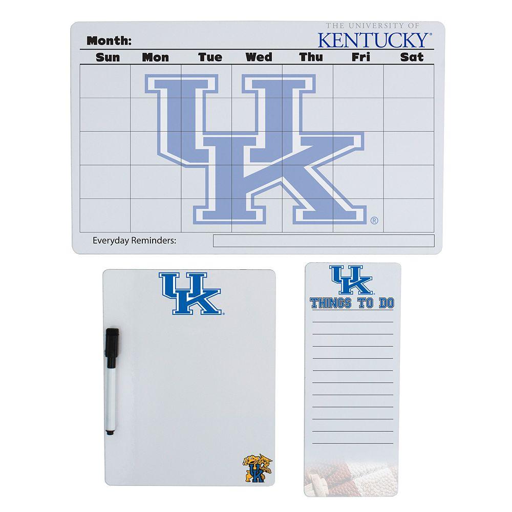 Kentucky Wildcats Dry Erase Board Set