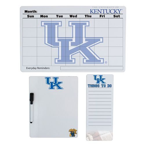 Kentucky Wildcats Dry Erase Board Set