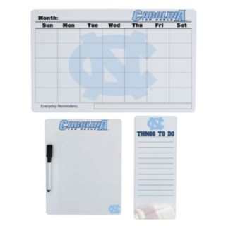 North Carolina Tar Heels Dry Erase Board Set