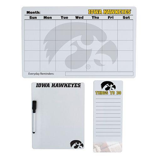 Iowa Hawkeyes Dry Erase Board Set