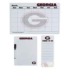 Georgia Bulldogs Dry Erase Board Set