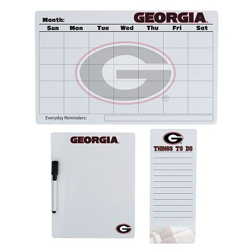 Georgia Bulldogs Dry Erase Board Set