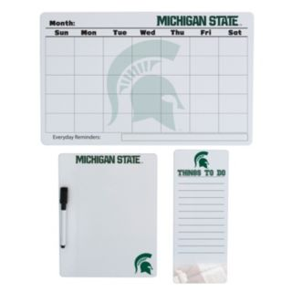 Michigan State Spartans Dry Erase Board Set