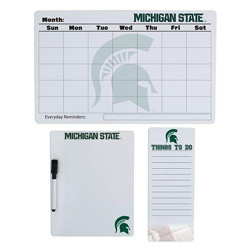 Michigan State Spartans Dry Erase Board Set