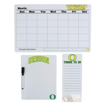 Oregon Ducks Dry Erase Board Set