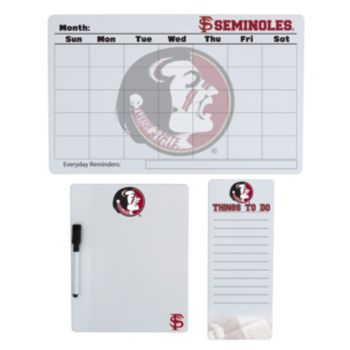 Florida State Seminoles Dry Erase Board Set