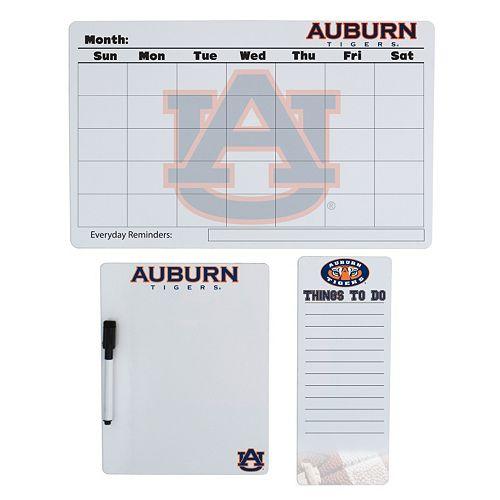 Auburn Tigers Dry Erase Board Set