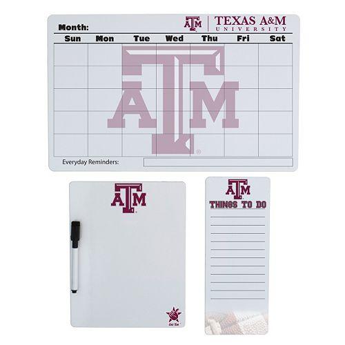 Texas A&M Aggies Dry Erase Board Set