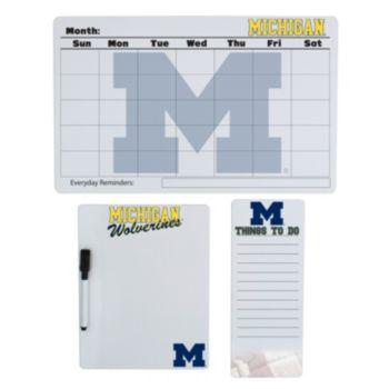 Michigan Wolverines Dry Erase Board Set