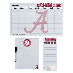 Alabama Crimson Tide Dry Erase Board Set