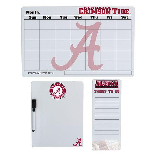Alabama Crimson Tide Dry Erase Board Set