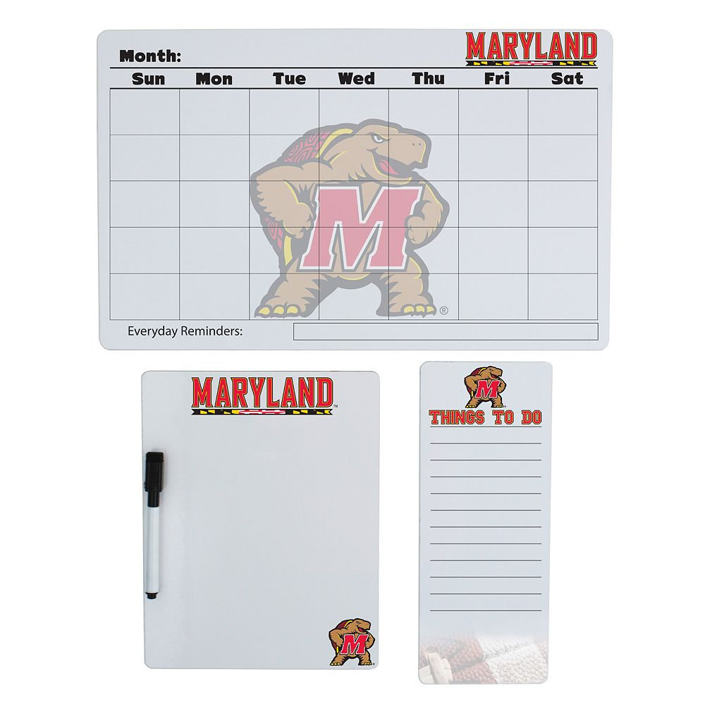 Maryland Terrapins Dry Erase Board Set