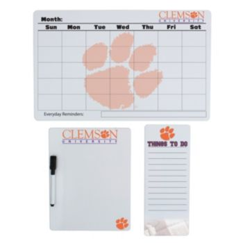 Clemson Tigers Dry Erase Board Set