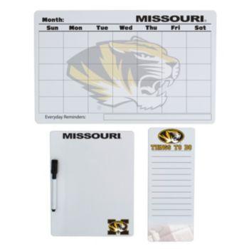 Missouri Tigers Dry Erase Board Set
