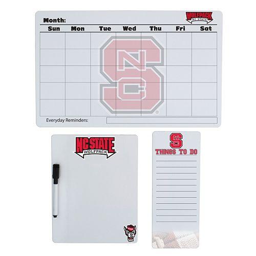 North Carolina State Wolfpack Dry Erase Board Set