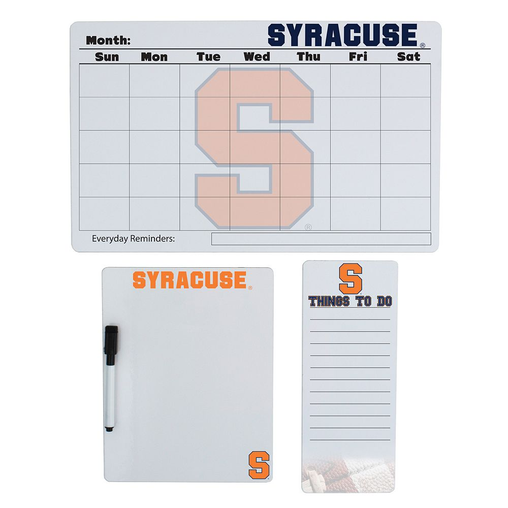 Syracuse Orange Dry Erase Board Set