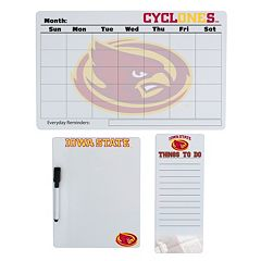 Iowa State Cyclones Dry Erase Board Set