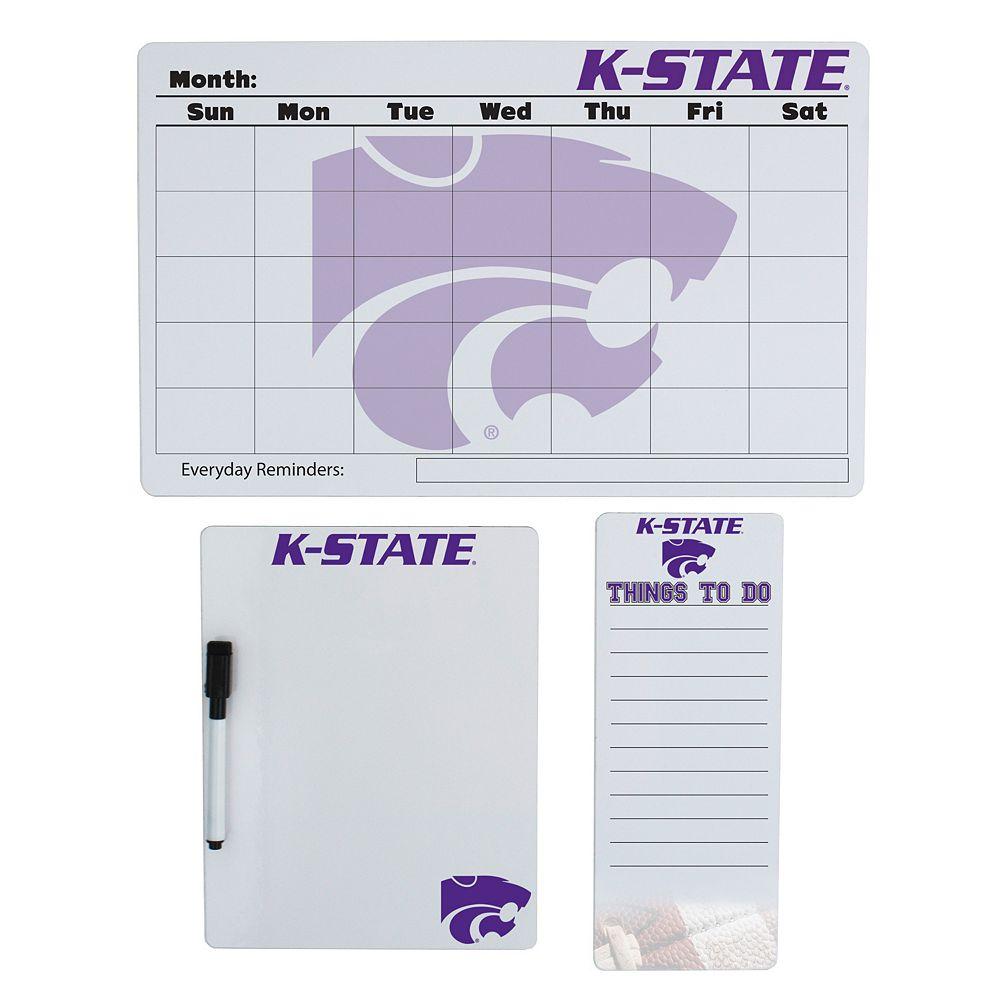 Kansas State Wildcats Dry Erase Board Set