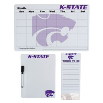 Kansas State Wildcats Dry Erase Board Set