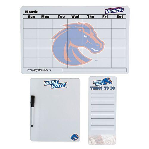 Boise State Broncos Dry Erase Board Set