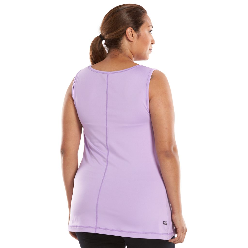 Plus Size FILA SPORT® Core Essential Workout Tank
