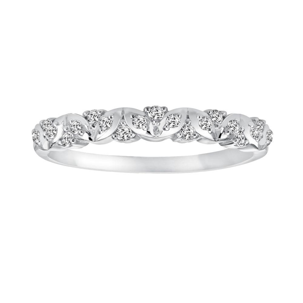 Vera Vera Wang 14k White Gold 17 ct TW Diamond Wedding Ring