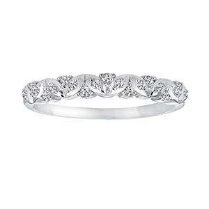 Simply Vera Vera Wang 14k White Gold 1/7-ct. T.W. Diamond Wedding Ring