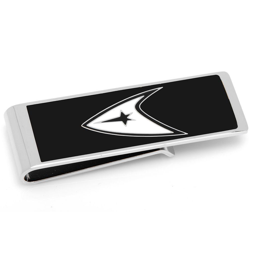 Star Trek Delta Shield Rhodium-Plated Money Clip