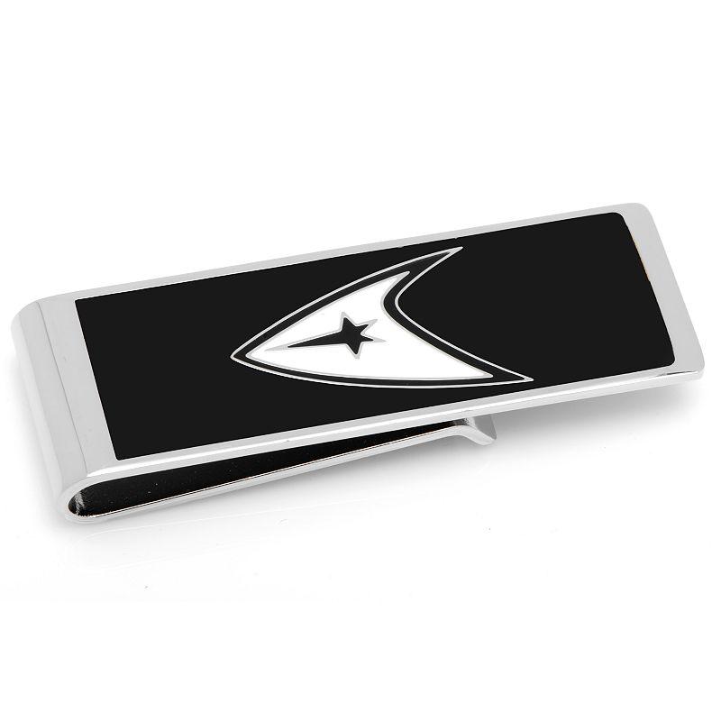 Star Trek Delta Shield Rhodium-Plated Money Clip, Men's