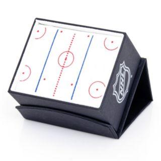 Philadelphia Flyers Rhodium-Plated Cuff Links