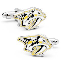 Nashville Predators Rhodium-Plated Cuff Links