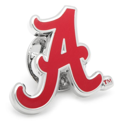 Alabama Crimson Tide Rhodium-Plated Lapel Pin