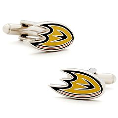 Anaheim Ducks Rhodium-Plated Cuff Links