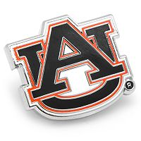 Auburn Tigers Rhodium-Plated Lapel Pin