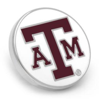 Texas AandM Aggies Rhodium-Plated Lapel Pin