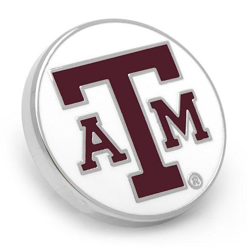 Texas A&M Aggies Rhodium-Plated Lapel Pin