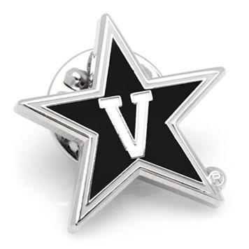 Vanderbilt Commodores Rhodium-Plated Lapel Pin