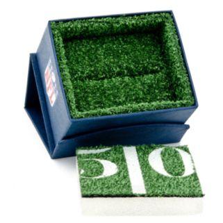 Seattle Seahawks Rhodium-Plated Cuff Links