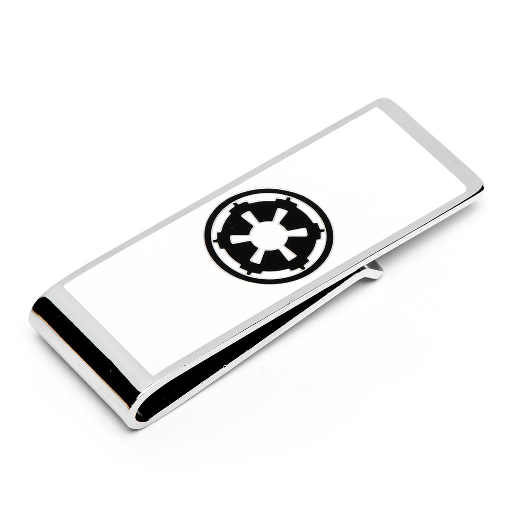 Star Wars Imperial Empire Symbol Rhodium-Plated Money Clip