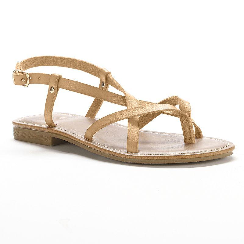 Women's SO Gladiator Strappy Flat Sandals