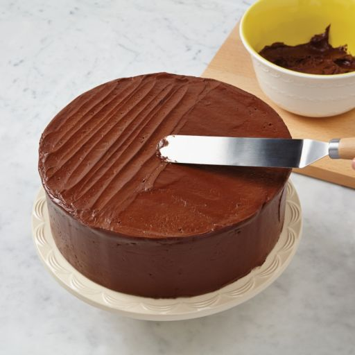 Cake Boss Wooden Tools and Gadgets 7 3/4-in. Offset Icing Spatula