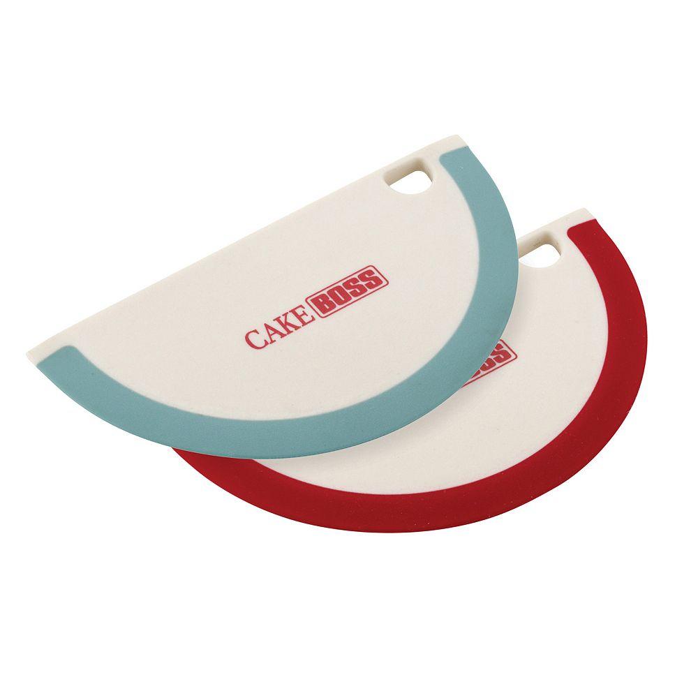 Cake Boss™ Tools & Gadgets 2-pc. Silicone Bowl Scraper Set