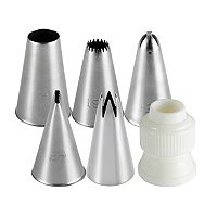 Cake Boss™ Decorating Tools 6-pc. Traditional Decorating Tip Set