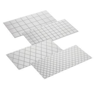 Cake Boss Decorating Tools 4-pc. Quilted and Square Fondant Imprint Mat Set