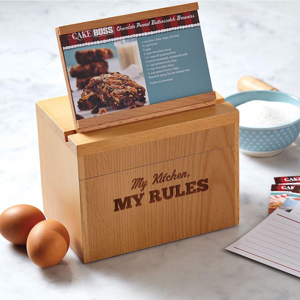 Cake Boss My Kitchen My Rules Recipe Box